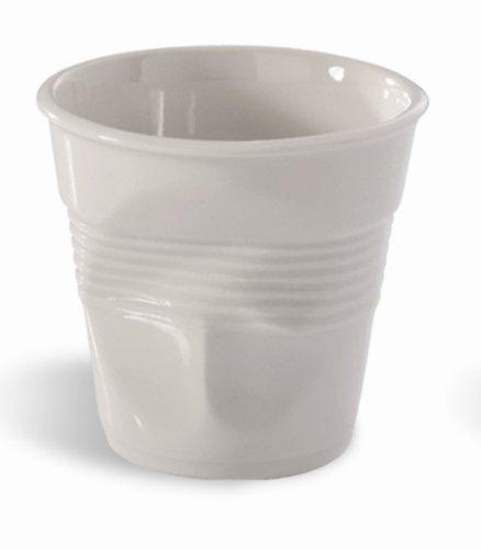 Revol db454Froisses Cappuccino Becher, Weiß (6Stück)