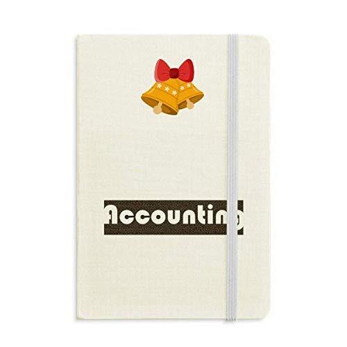 Notizbuch, Kurs und Major Buchhaltung, schwarz, Jingling Bell