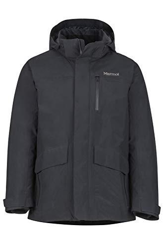 Marmot Herren Isolierte Winterjacke, Stylischer Warmer Parka, Wasserdicht, Winddicht Yorktown Featherless, Black, XXL, 74760