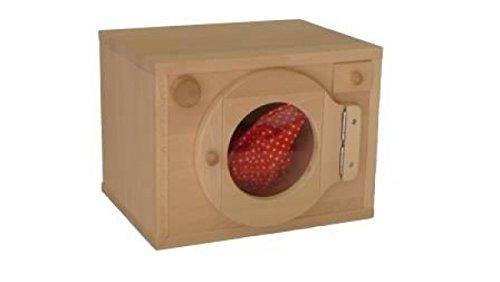 Holz-Kinder-Waschmaschine 1027G - Kinderküche-Ergänzung - für Spielständer