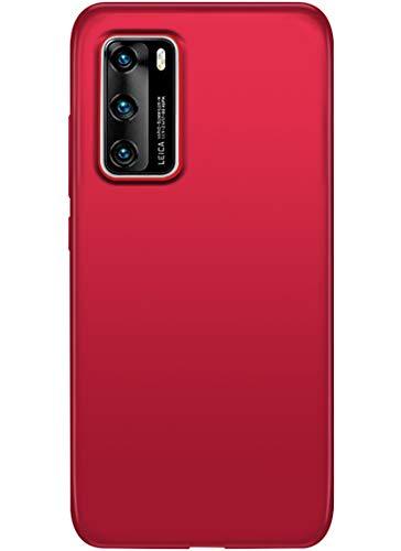SharSon Kompatibel mit Huawei P40 Hülle Schutzhülle Slim PC Leichte Matte Handyhülle Stoßdämpfend Hüllen Hardcase Antikratzer Case