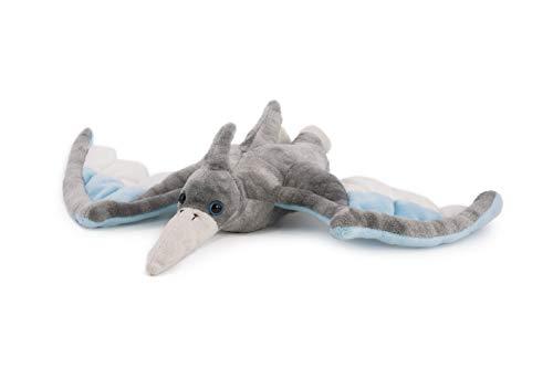 Trigon Flugsaurier 46 cm, grau, Plüschtiere Kuscheltiere Stofftiere Flugdino Dinosaurier Dinos, Urvogel Pterodactyl
