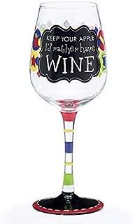 Teacher's Wine Glass with