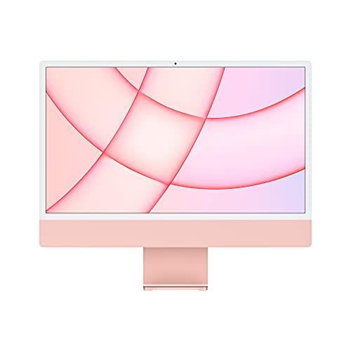 2021 Apple iMac (24インチPro, 8コアCPUと8コアGPUを搭載したApple M1チップ, 8GB RAM, 256GB) - ピンク