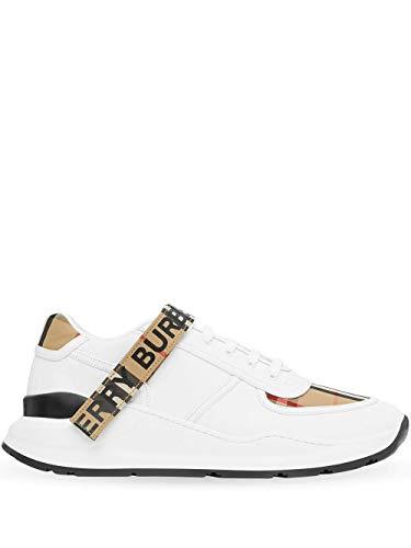 Luxury Fashion | Burberry Heren 8024052 Wit Katoen Sneakers | Lente-zomer 20