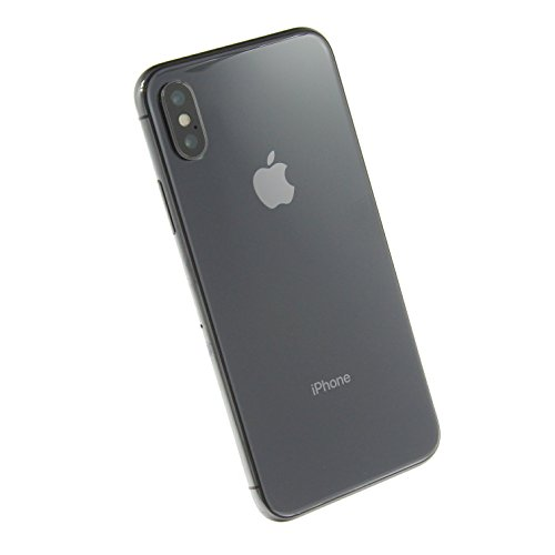 Apple iPhone X, Fully Unlocked, 256GB - Space Gray (Refurbished)