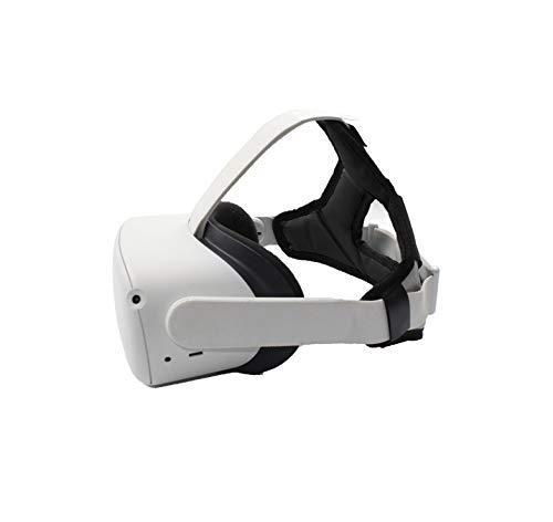 SHEAWA Oculus Quest 2用 ヘッドバンド ヘッドストラップ 重みを減少 アクセサリー (ブラック)