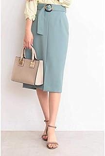 エヌ ナチュラルビューティーベーシック(N.Natural Beauty Basic*) ベッコウバックルタイトスカート
