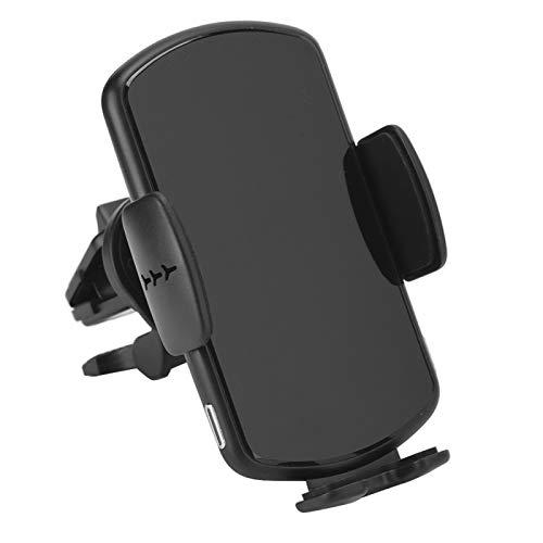 cigemay Cargador Inalámbrico para Automóvil, Soporte para Teléfono De Carga Inalámbrico Montado En El Vehículo De 15 W con Teclas Sensoras Táctiles, Protección contra Sobrecorriente Y Sobrevoltaje