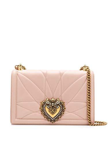 DOLCE E GABBANA Luxury Fashion Damen BB6651AV96780412 Rosa Schultertasche | Herbst Winter 19