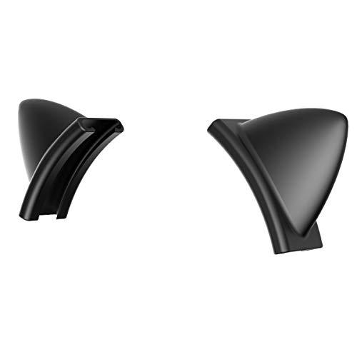 SOMiC 2 niedliche Schwarz Katzenohren abnehmbare Silikon Kitty Katzen G951 Kopfhörer, schönes aufsteckbares Zubehör für Kopfhörer, universelle Passform für andere Headsets