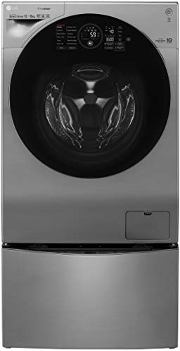 LG 12 kg Inverter Wi-Fi Fully-Automatic Front Loading Washer Dryer (FH6G1BCHK6N, STS, Inbuilt Heater)