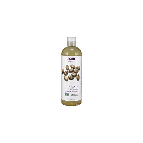 NOW Solutions Castor Oil 100 % Pure 16Ounce