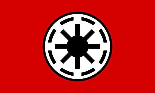 magFlags Bandera XL Galactic Republic | Galactic Republic Star Wars | Bandera Paisaje | 2.16m² | 130x170cm