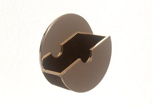 10 de plug Titulaire bâton Tidy On Self Adhesive Laiton Finition en plastique