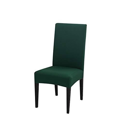 LZHLMCL Anti Dirty Stuhlbezüge Stuhlbezug Elastic Chair Cover Dining Abnehmbarer Sitzbezug Staubdichte Stuhlhussen Hochzeiten Haus Universal 4Pcs