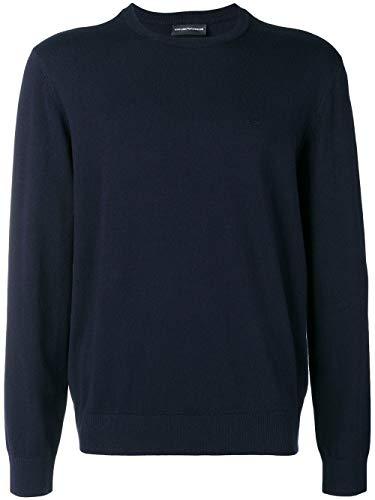 Luxury Fashion | Emporio Armani Heren 8N1MA11MPQZ0924 Donkerblauw Polyamide Truien | Herfst-winter 19