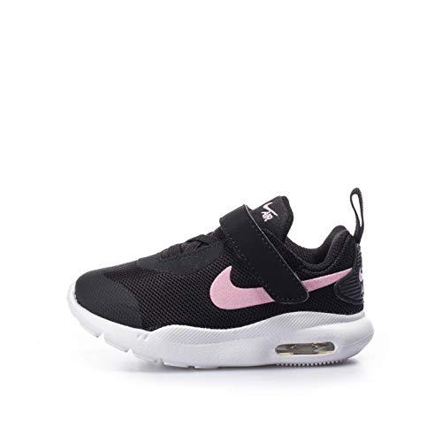 Nike Jungen Air Max Oketo Laufschuh, Negro/Rosa/Blanco, 34 EU