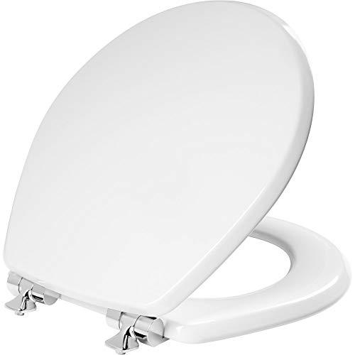 MAYFAIR 26CHSL 000 Benton Toilet Seat with Chrome...