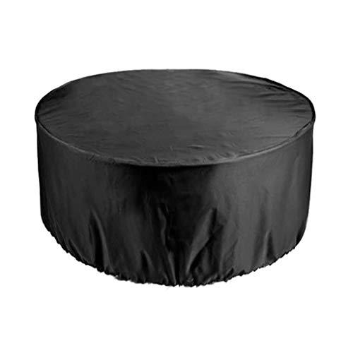 TOYS Funda para Muebles Exterior Cubierta Protectora, Funda Protectora para Muebles Jardín Impermeable 210D Oxford Ronda para Muebles Sillas Sofás Mesas Cubierta Exterior,185 * 110CM