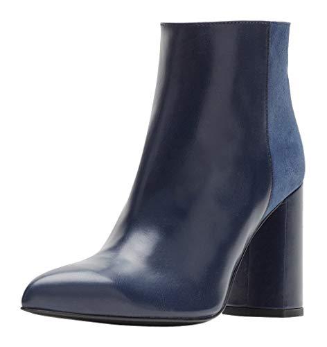 Poi Lei Damen Schuhe Wedges Boots Grace Silber Stiefeletten