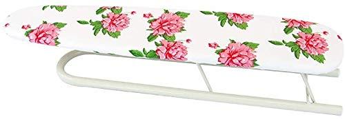 Tablas de planchar Mini Tablero de planchado, Base en forma de U Plato de Plancha, Toque redondeado, Acero al carbono, Duración, Diseño plegable, Ahorro de espacio, 52 x 12 x 10 cm ( Color : A