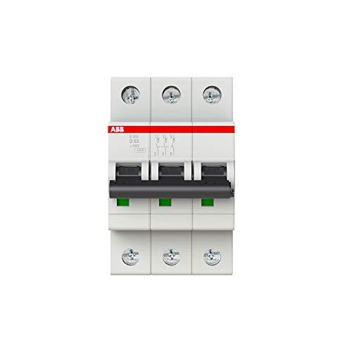 Interruptor automático, S200, 3P, D, 63 amperios (referencia: 2CDS253001R0631)