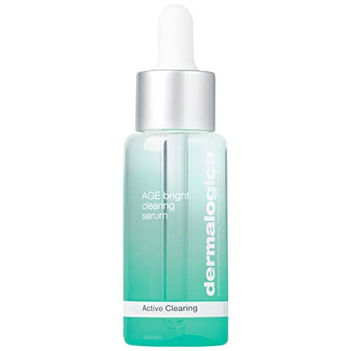 Dermalogica Age Bright Clearing Serum (1 Fl Oz) Anti-Aging Face Serum with Salicylic Acid - Promotes Smoother, Clearer, Brighter, and More Even Skin