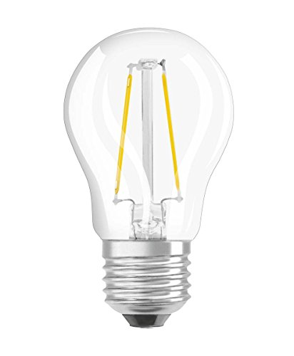 Osram Lampada LED | Attacco: E27| Bianco Caldo | 2700K | 3,30W | ricambio per lampadina da 25W | LED Retrofit Classic P DIM