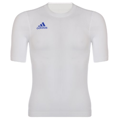 adidas Funktionswäsche Sportunterwäsche high performance fit Shirt Herren Art. 609997, weiß, S