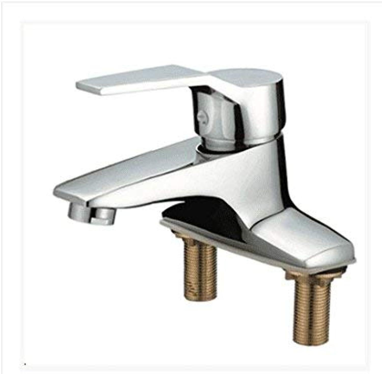 CFHJN HOME Sink Taps Double hole copper chrome