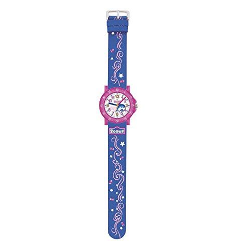 Scout Mdchen Analog Quarz Uhr mit Textil Armband 280375001