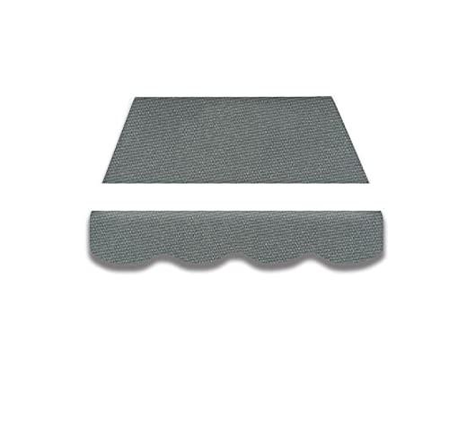 Home & Trends Preiswert Markisen Tuch Markisenbespannung Ersatzstoffe SPD008 Maße 4 x 3 m Markisenstoffen inkl. Volant fertig genäht mit Bordeux