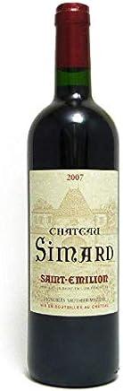 シャトー シマール サン テミリオン2007 [ 2007 赤ワイン フルボディ フランス 750 ]
