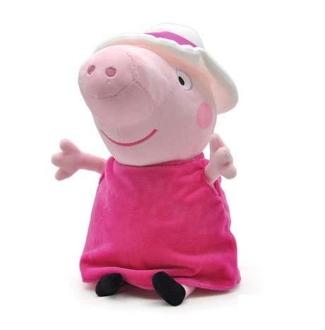 Peluche de Personaje Pig: Niña con sombrero h 30
