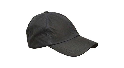 Walker and Hawkes Unisex Baseball-Kappe aus gewachster Baumwolle - Einheitsgröße Blau