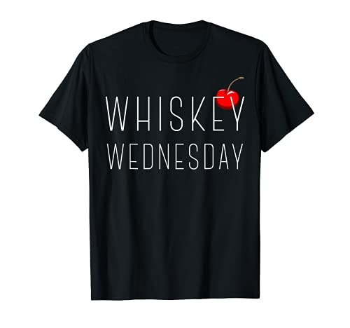Whiskey Wednesday Cherry On Top Graphic T-Shirt