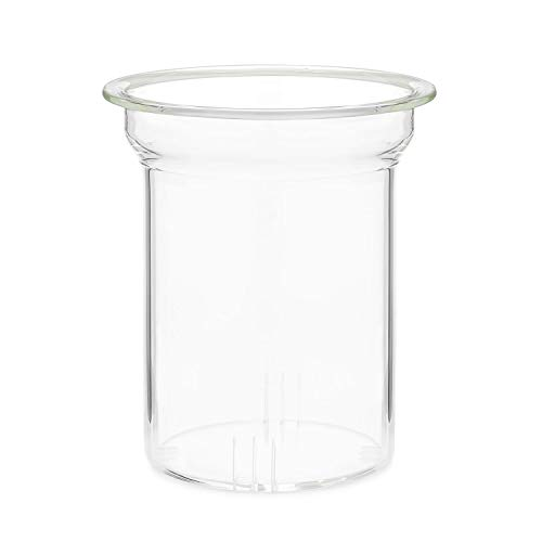 Teabloom Tee-Ei aus Glas für die Teekanne Celebration (1,2 l) - Ersatzteil - Borosilikatglas Teekannenfilter / Sieb - BPA-frei - bleifrei