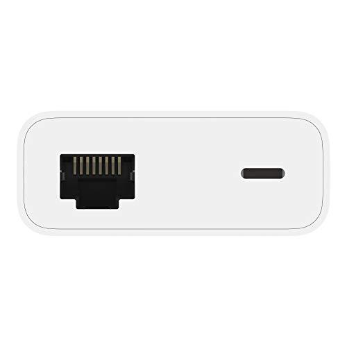 Belkin Ethernet- und Stromadapter mit Lightning Connector (Lightning-/Ethernet-Adapter für iPad POS-Systeme)