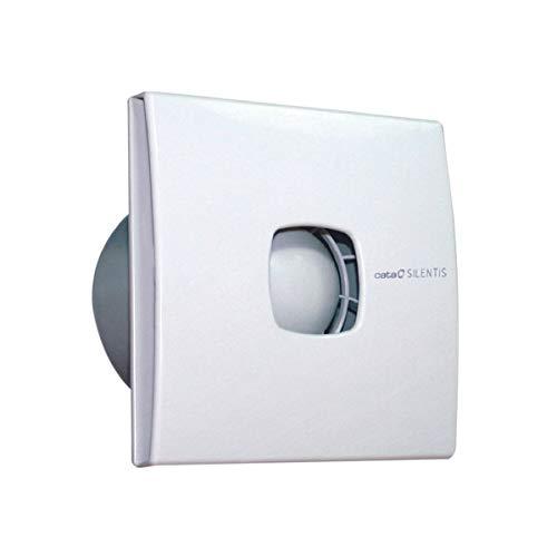 Ventilator Lüfter CATA SILENTIS 12, 190 m³/h, 120 mm Rückschlagklappe leichte Reinigung, moderne Design,europäische Markenqualität seit 1947 mit Hammerpreis