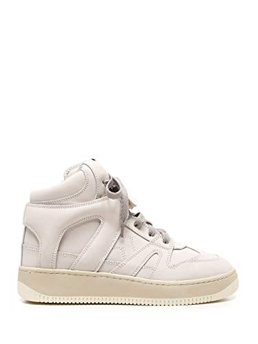 Isabel Marant Luxury Fashion Damen BK018820A010S20CK Weiss Leder Hi Top Sneakers | Herbst Winter 20