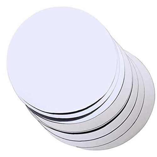 TOSSPER 20pcs del Papel De Aluminio del Vino Vertedor Plegable Disco Flexible Antigoteo Vierte Los Canalones Disco Gota Dejar De Verter Discos De Plata