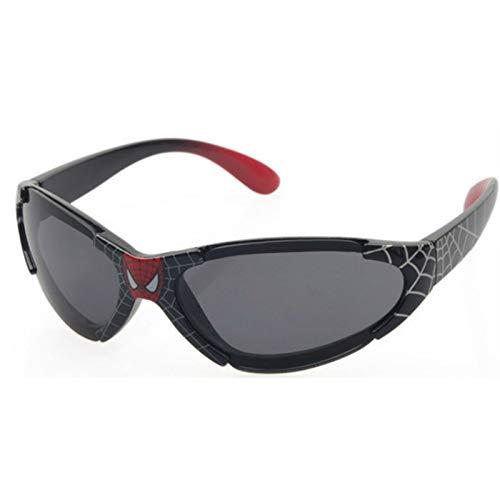 PPuujia Gafas de sol para niños de la marca 2020, color negro al aire libre, revestimiento de seguridad para niños, gafas de sol para niños y niñas, color negro