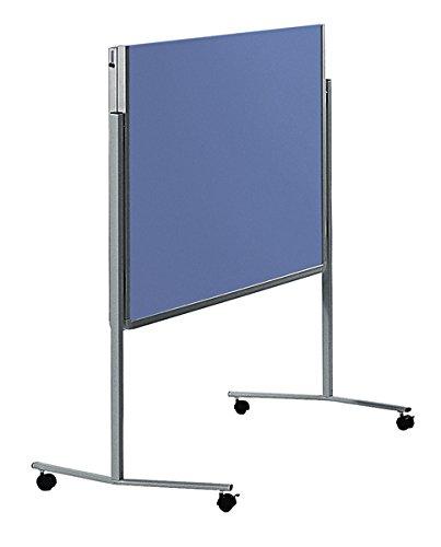 Legamaster 7-205200 Moderationswand Premium klappbar mobil 120 x 150 cm, Filz, blaugrau