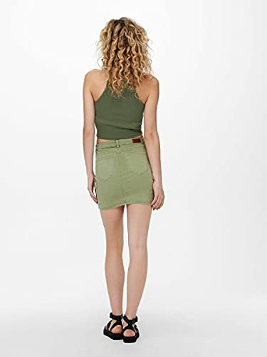 Only ONLMISSOURI Life RG Cargo Skirt PNT Noos, Oil Green, 36 para Mujer