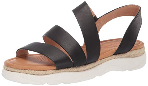 CC Corso Como Women's Yasha Casual Sport Sandal, Black, 7 M US