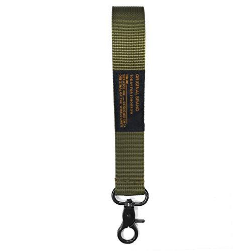 Veiai Key Lanyard, Wristlet Strap for Car Key, ID Badge, Keychain Holder (Olive Green)