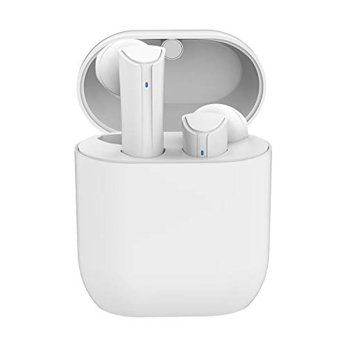Wireless Earbuds Bluetooth 5.0 Headphones, Cshidworld True Wireless Stereo Earphones with 35Hrs Playback, Hi-fi Sound Bluetooth Headset with Charging Case, One-Step Pairing