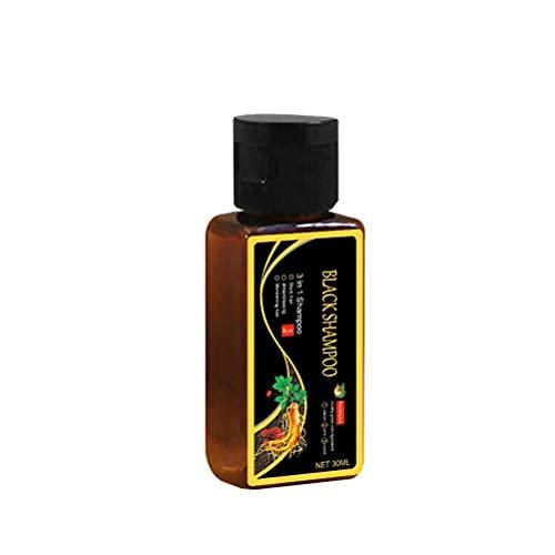Laddup Champú Brillo de cosmética Natural, champú para el Crecimiento del Cabello Bio, champú líquido para el Cuidado Natural del Cabello, 30 ml