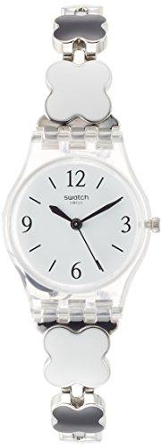 Swatch Reloj Digital de Cuarzo para Mujer con Correa de